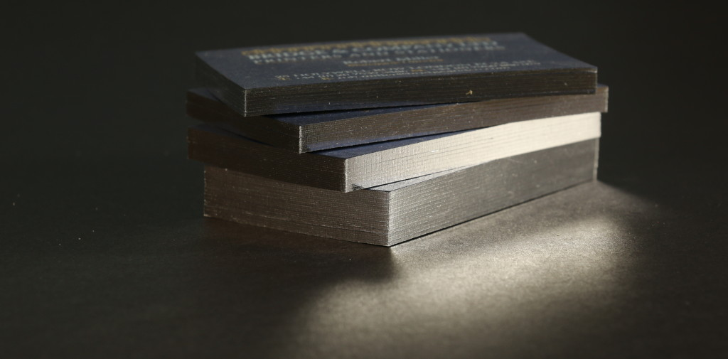 Gilt Edged Business Card